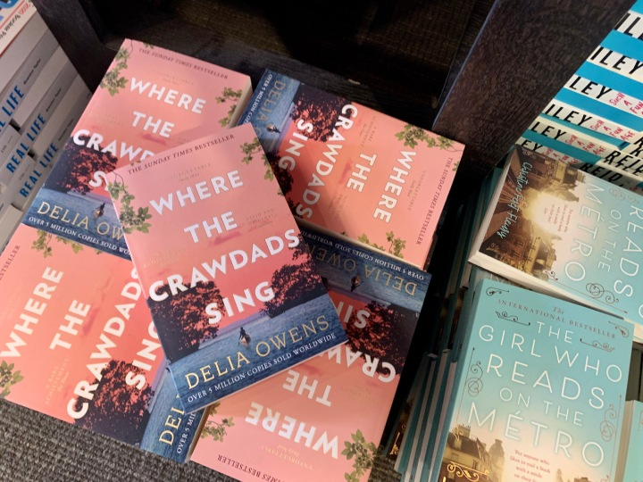 LIZZIE READS … WHERE THE CRAWDADSSING