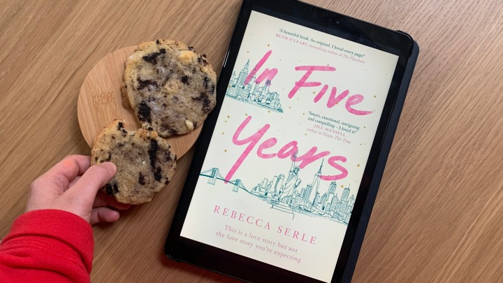 LIZZIE READS … IN FIVE YEARS